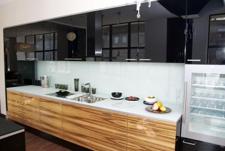 Zdjęcie nr 6 Modne kuchnie, czyli dwukolorowe meble kuchenne  galeria  Pro   -> Aranżacje Kuchni W Bloku Zdjecia