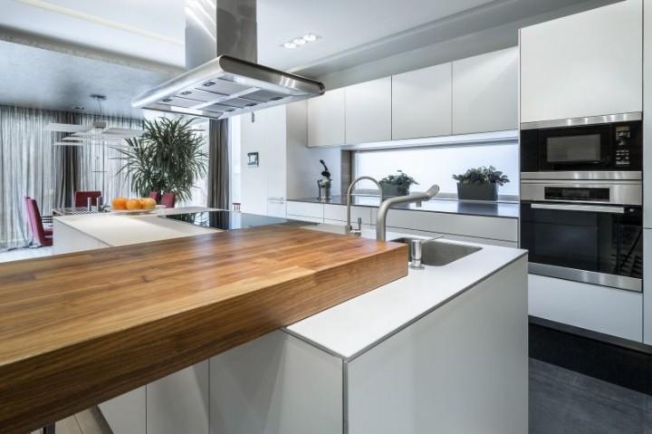 Drewniany blat w kuchni – wykończony olejem czy lakierem   -> Kuchnia Letnia Prawo Budowlane